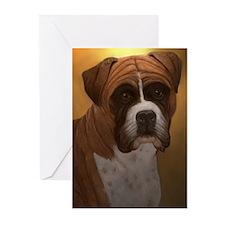 Boxer Dog Greeting Cards (Pk of 10)