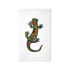 Wild Salamander 3'x5' Area Rug