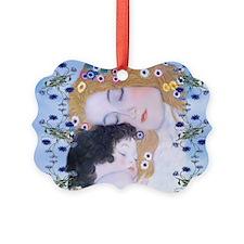 Gustav Klimt Mother & Child Lapto Ornament