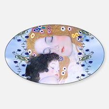 Gustav Klimt Mother & Child Laptop  Decal