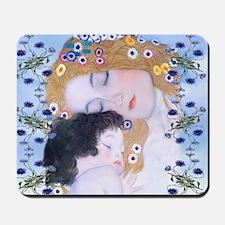 Gustav Klimt Mother & Child Laptop Skin Mousepad
