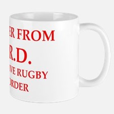 Cute Rugby joke Mug