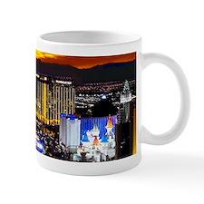 Las Vegas Strip (gold Sky) 11 oz Mug