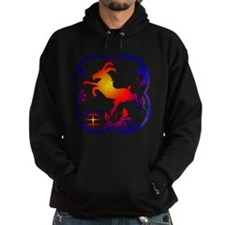 Year of The Sheep Goat Hoodie