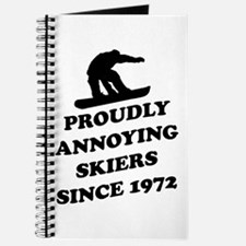 Snowboarders annoying skiers Journal