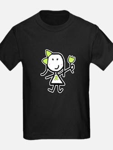 Girl & Lime Ribbon T