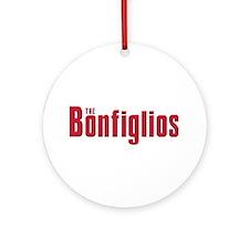 The Bonfiglio family Ornament (Round)