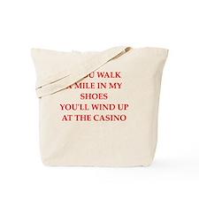 Unique Gambling Tote Bag