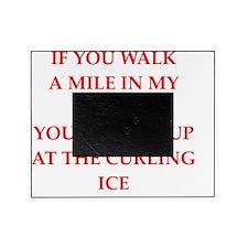 Unique Curling team Picture Frame