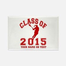 Class of 2015 Lacrosse Rectangle Magnet