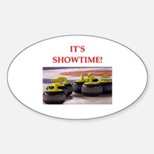 Cute Curling funny Decal
