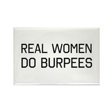 Real women do burpees Magnets