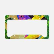 Dreaming in Color License Plate Holder