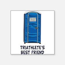 porta-potty-triathletes-bestfriend Sticker