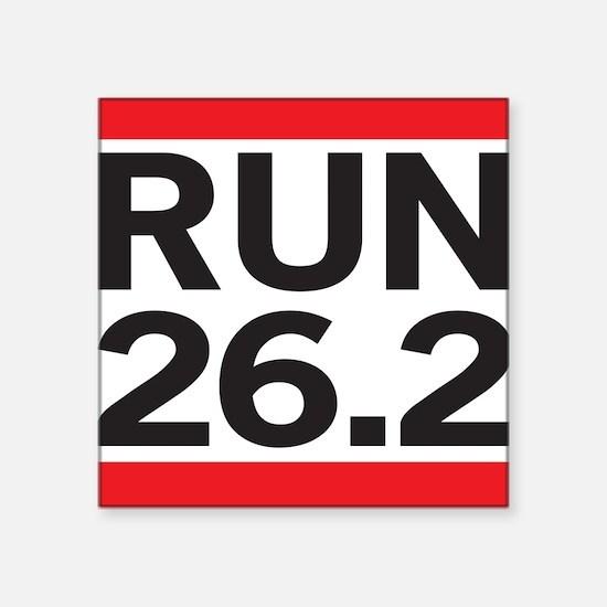 Run 26.2 Sticker