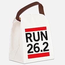 Run 26.2 Canvas Lunch Bag