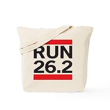 Run 26.2 Tote Bag