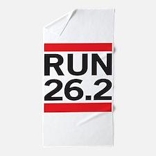 Run 26.2 Beach Towel