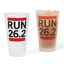 Run 26.2 Drinking Glass