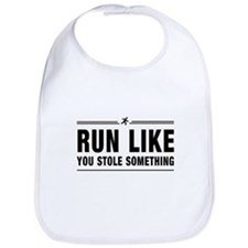 Run like you stole something Bib