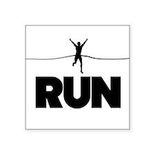 Run win Sticker