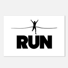 Run win Postcards (Package of 8)