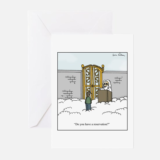 Heaven Reservation Greeting Cards (Pk of 20)