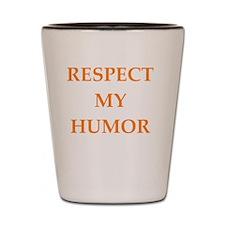 Cool Comedians Shot Glass