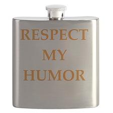 Cute Comedian Flask