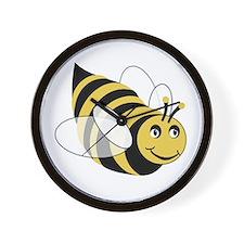 Cute Bumble bee Wall Clock