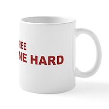 Live Free Dine Hard Mugs