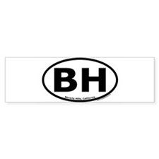 beverlyhills Bumper Bumper Sticker
