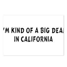 Im Kind of a Big DealCA.png Postcards (Package of