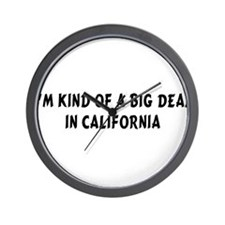 Im Kind of a Big DealCA.png Wall Clock