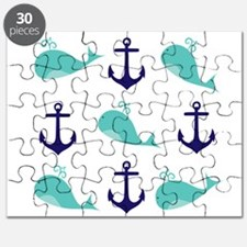 Whales and Anchors Puzzle