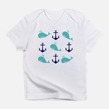 Whales and Anchors Infant T-Shirt