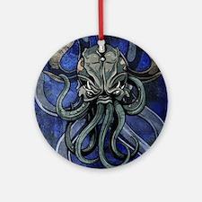 Kraken Round Ornament