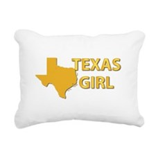 Texas Girl Rectangular Canvas Pillow