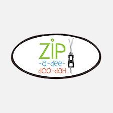 Zipper Zip Patches