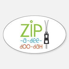Zipper Zip Decal