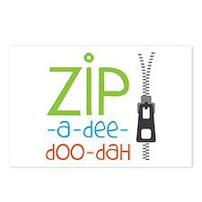 Zipper Zip Postcards (Package of 8)