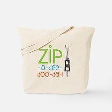 Zipper Zip Tote Bag