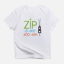 Zipper Zip Infant T-Shirt