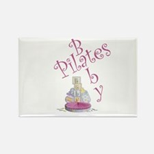 Pilates Baby #2 Rectangle Magnet
