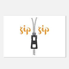 Zip Zip Postcards (Package of 8)