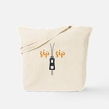 Zip Zip Tote Bag