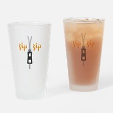Zip Zip Drinking Glass