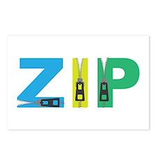 Zip Postcards (Package of 8)