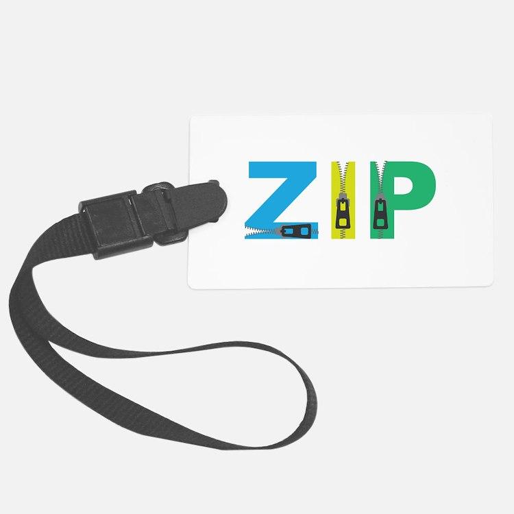 Zip Luggage Tag