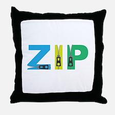 Zip Throw Pillow